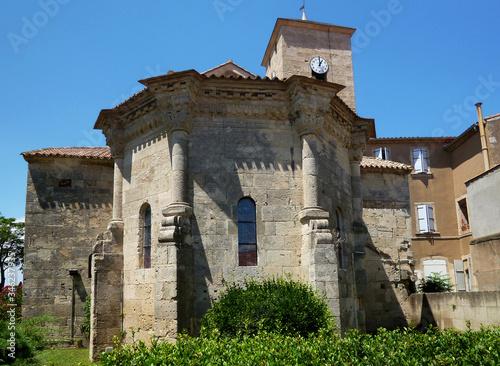 Polygonal Romanesque apse Wallpaper Mural