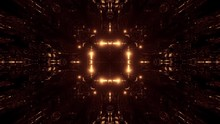 Motion Graphics: Entering Into Golden Matrix And Celestial Cosmic Realm