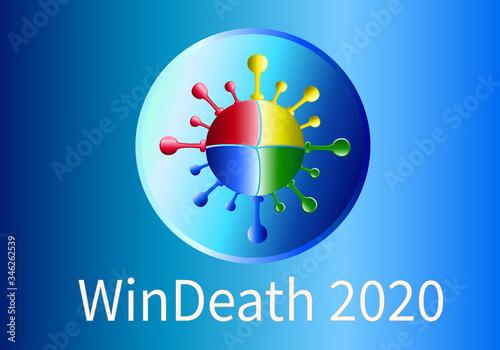 Cuadros en Lienzo chipization, bill gates, microsoft, genocide, soros, who, chip, coronavirus, virus, danger, disease, clinton, death, healthy, epidemic, pandemic, covid-19, medical, medicine