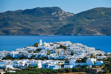 View Of Plaka Village With Tra...