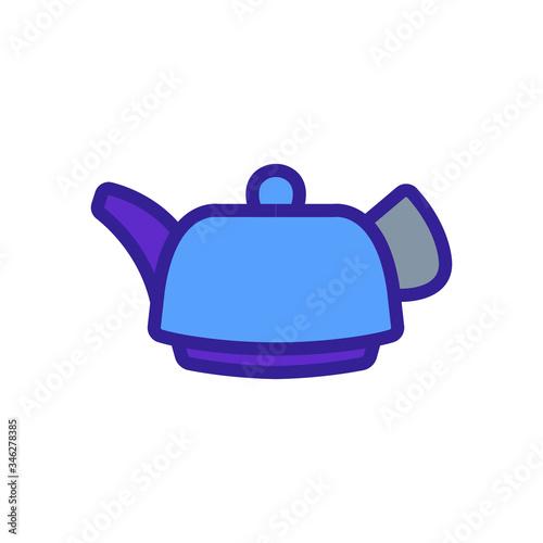 Fotografija tea infuser icon vector