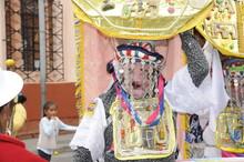 Inty Raymi Fiesta Clasica De Celebración Por El Solticio Que Se Celebra En El Santón Salcedo Provincia De Cotopaxi Ecuador