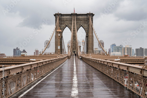 Fotografie, Tablou Brooklyn bridge