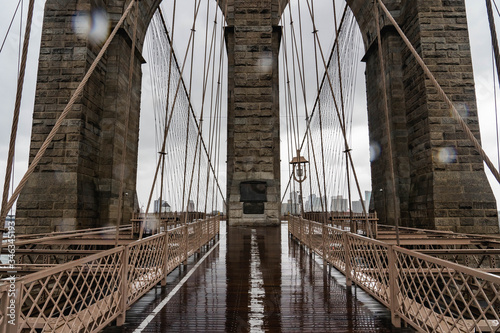 Tablou Canvas Brooklyn bridge