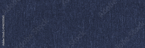 Fotografie, Tablou Dark blue denim background, detailed and high resolution fabric texture