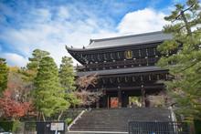 Kyoto, Japan - Nov 26, 2019: C...