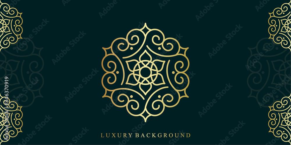 Fototapeta Luxury Mandala Background