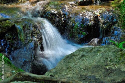 Fotografie, Obraz Scenic View Of Waterfall