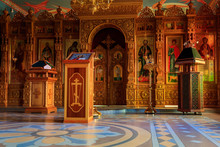 Interior Of The Small Orthodox...