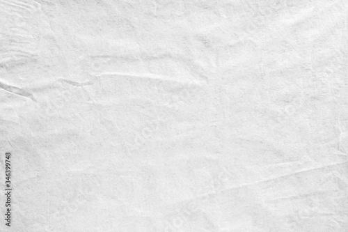 Fototapeta crumpled old pale grey kraft background paper texture