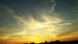 Leinwandbild Motiv Scenic View Of Sunset Sky
