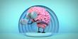 canvas print picture - exercise brain