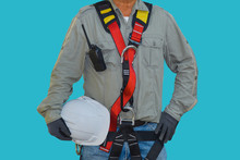 Safety, Worker Wearing Safety ...