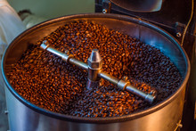 Fresh Roasted Coffee Bean Over...