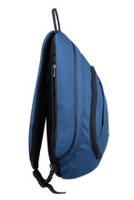 Blue Backpack For Traveling An...