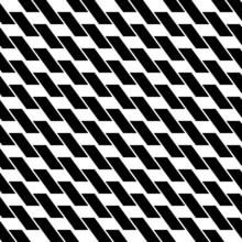 Black And White Geometric Seam...
