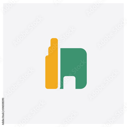 Photo Apartheid museum concept 2 colored icon