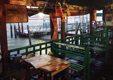 Cafe Next To Sea