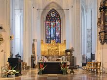 Gdansk, Poland. Altar Of St. M...
