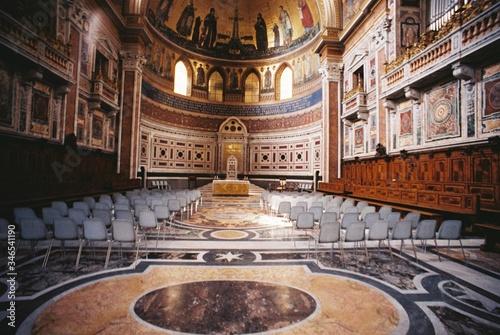 Photo Interior Of Byzantine Church