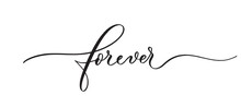 Forever Typography Lettering Q...