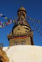 "Swayambhunath Also Called ""mon..."