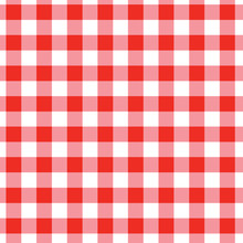 Red Checkerboard Tablecloth - ...