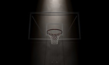 Basketball Hoop Spotlight