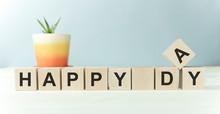 Male Concept For Happy Day. Ti...