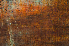 Texture Of Rusty Iron Sheet Wi...