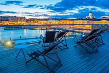 Evening In Helsinki. Finland. ...