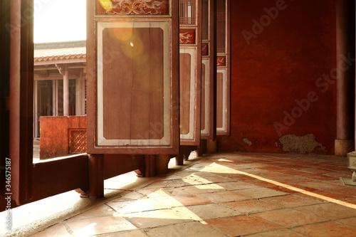 Valokuva Sunlight Streaming Through Taiwan Confucian Temple
