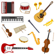 Musical Instruments. A Large S...