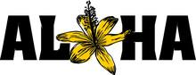 Aloha Shaka Print And Embroidery Graphic Design Vector Art