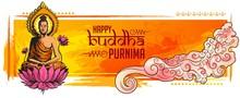 Illustration Of Buddha Purnima...