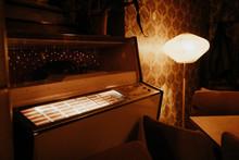 Old Jukebox Inside Building In...