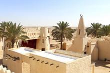 Village Arabe Dans Le Désert ...