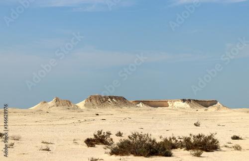 Valokuvatapetti désert du Qatar et champignon rock