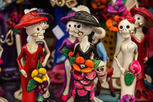 Close-up Of Figurines For Sale During Halloween