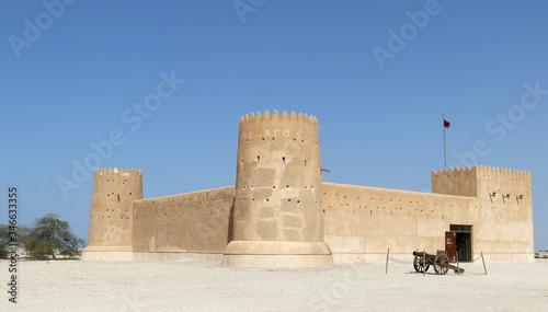 Fort en Arabie (Qatar) Wallpaper Mural