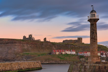 Golden Hour Skies Over Whitby ...