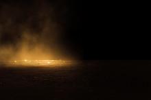 Empty Background Scene.  Rays ...