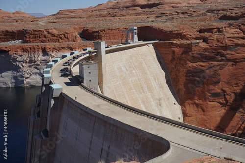 glen canyon dam in arizona фототапет