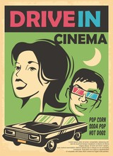 Drive In Cinema Retro Advertis...