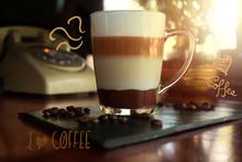 Un Delicioso Café En Un Gran ...