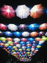 Illuminated Multi Colored Umbr...