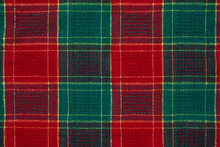 Background Of Are Red And Green Check Table Mat