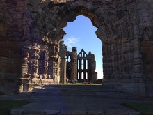 Exterior Of Whitby Abbey