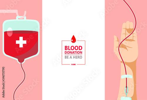 Fotografia Blood donation day