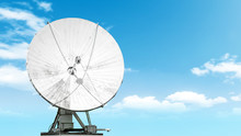 Satellite Antenna Isolated On ...